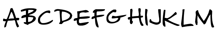 Missy Girly Font UPPERCASE