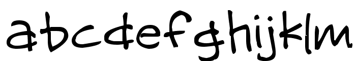 Missy Girly Font LOWERCASE