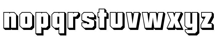 Mister Belvedere 3D Font LOWERCASE