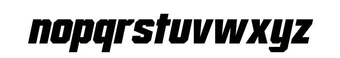 Mister Belvedere Oblique Font LOWERCASE
