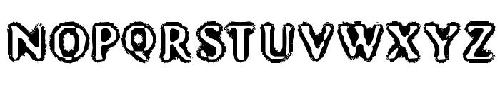 Mister Haddaris Font UPPERCASE