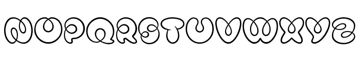 Mister Loopy Regular Font UPPERCASE