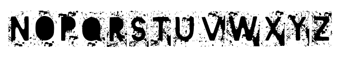 Mister Manson Font UPPERCASE