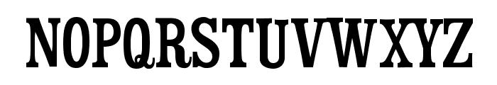 Mister Sinatra Slim Font UPPERCASE