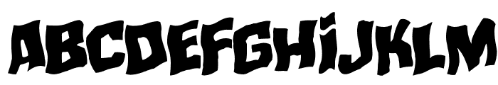 Mister Twisted Warped Rotalic Font LOWERCASE