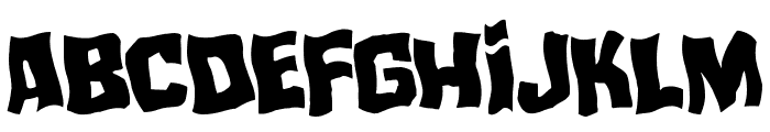 Mister Twisted Warped Font LOWERCASE