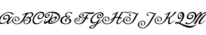 Mistery Curse Personal Use Font UPPERCASE