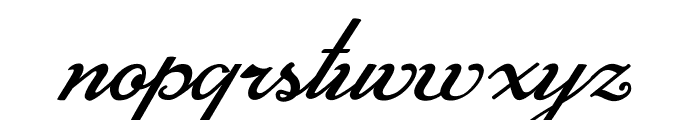 Mistery Curse Personal Use Font LOWERCASE