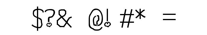 Misti Font OTHER CHARS