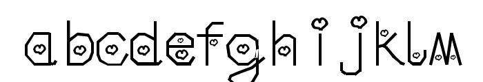 Misti Font LOWERCASE