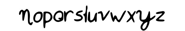 Mistie Font LOWERCASE