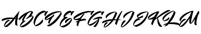 Mistuki 4 PERSONAL USE Font UPPERCASE