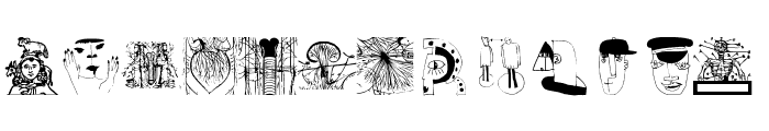 MiszellMay Font LOWERCASE
