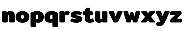 Mitr-Bold Font LOWERCASE