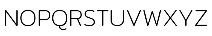 Mitr-ExtraLight Font UPPERCASE