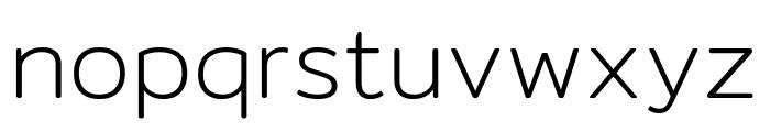 Mitr-ExtraLight Font LOWERCASE
