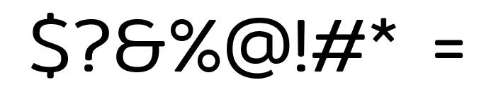 Mitr-Light Font OTHER CHARS