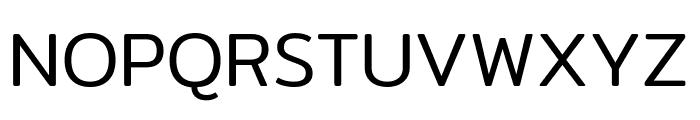 Mitr-Light Font UPPERCASE