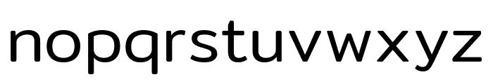 Mitr-Light Font LOWERCASE