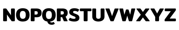 Mitr-SemiBold Font UPPERCASE
