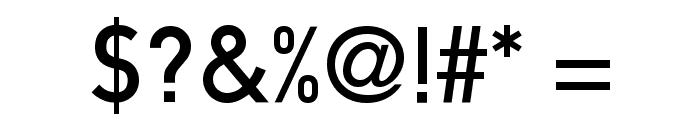 Mittleschrift Caps Font OTHER CHARS