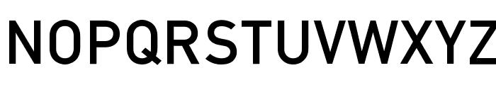 Mittleschrift Caps Font LOWERCASE