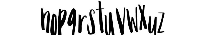 Mix Tumble Font UPPERCASE