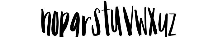 Mix Tumble Font LOWERCASE