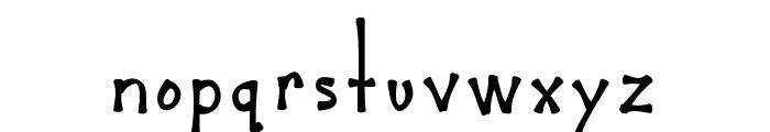 MixBamboo Font LOWERCASE
