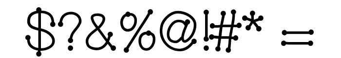 MixConnectDots Font OTHER CHARS