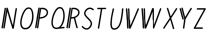 MixDuple Font UPPERCASE
