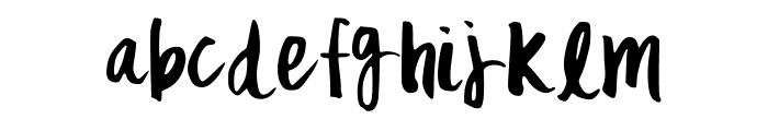 MixFickle Font LOWERCASE