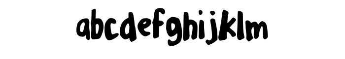 MixPlump Font LOWERCASE