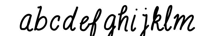 MixScribble Font LOWERCASE
