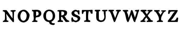 MixSerif Font UPPERCASE