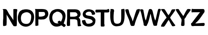 MixShaded Font UPPERCASE