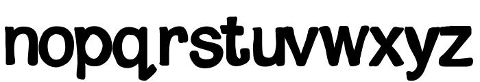 MixShaded Font LOWERCASE