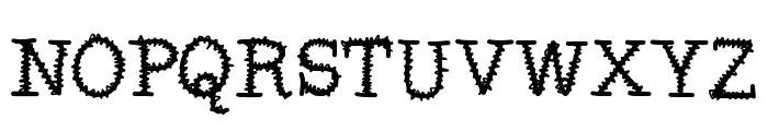 MixSquiggle Font UPPERCASE