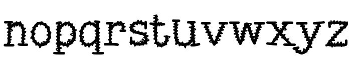 MixSquiggle Font LOWERCASE