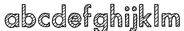 MixStriped Font LOWERCASE