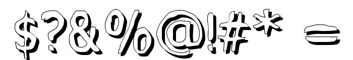 MixedFeelings-Regular Font OTHER CHARS