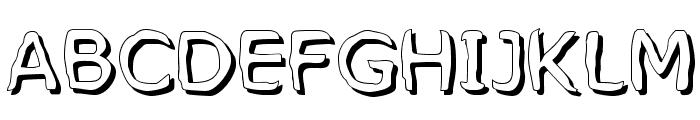 MixedFeelings-Regular Font UPPERCASE