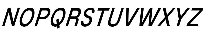 MixolydianTitlingBk-Italic Font UPPERCASE