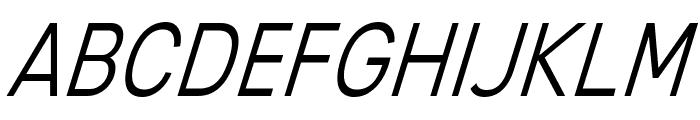 MixolydianTitlingLt-Italic Font UPPERCASE