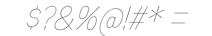 MixolydianTitlingUl-Italic Font OTHER CHARS
