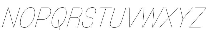 MixolydianTitlingUl-Italic Font UPPERCASE