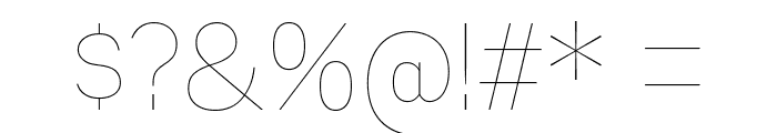 MixolydianTitlingUl-Regular Font OTHER CHARS