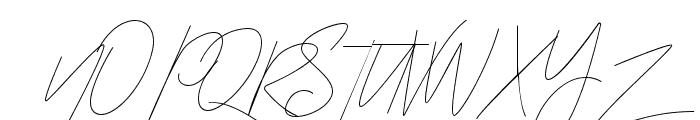 Miyake Regular Font UPPERCASE