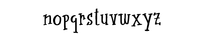 midcentury Font LOWERCASE