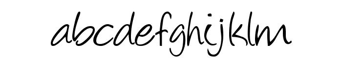 mihaelaborak Font LOWERCASE